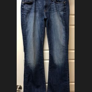 7 For All Mankind Jeans - 7 For All Mankind 7FAM SFAM dark blue jeans 31